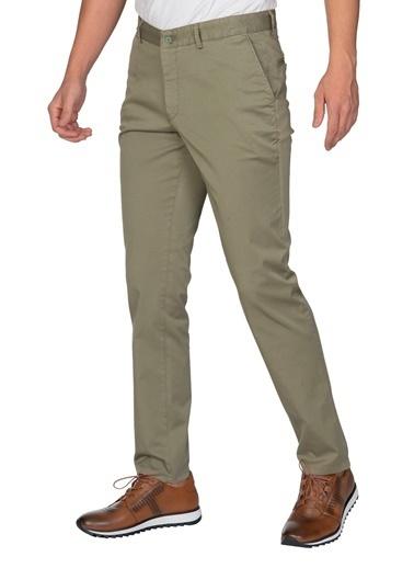 White Stone Paraíba Pamuklu Regular Fit Spor Pantolon Yeşil Yeşil